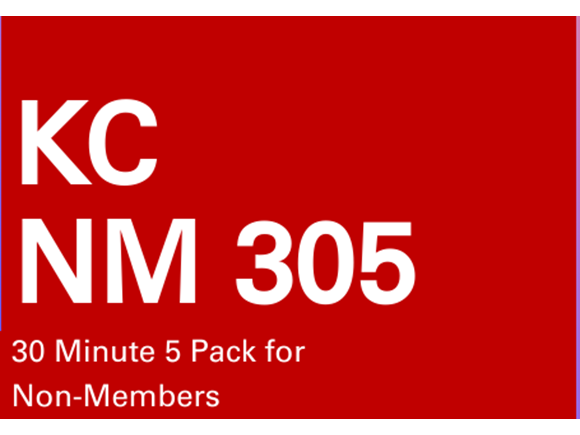 KC NM 5 Pack 30 minute sessions