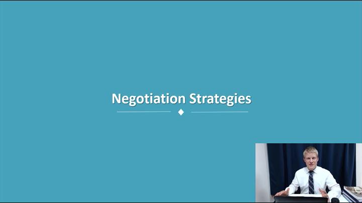 09/12 Developing Leadership Skills: Negotiation Strategies