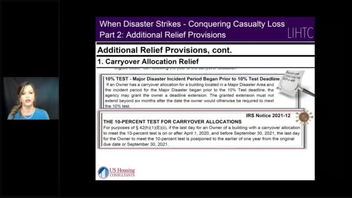 When Disaster Strikes - Understanding the impact of LIHTC Casualty Loss