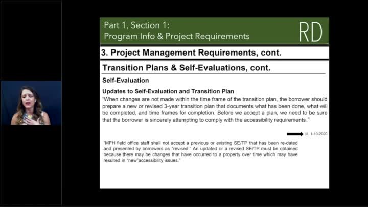 Proper Financial Management USDA Projects