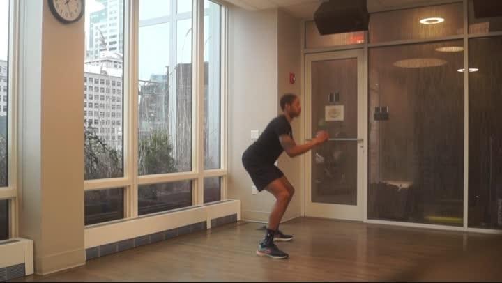 Dynamic Stretch Routine *5 Min.*