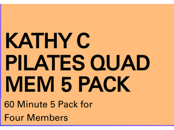 Pilates Mem 5 Pack Quad Sessions
