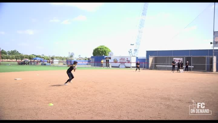 Hitting Ground Balls-2 Posts
