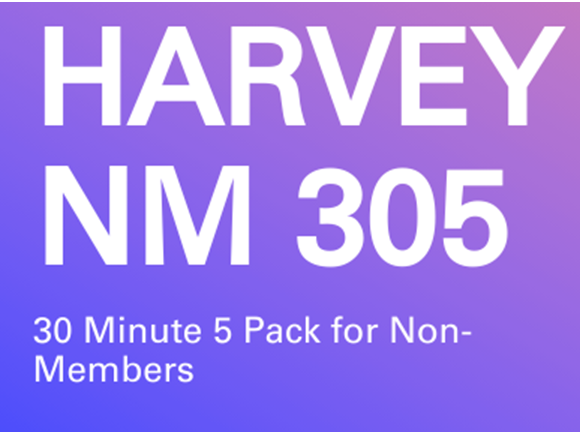 Harvey NM 5 Pack 30 Min Sessions
