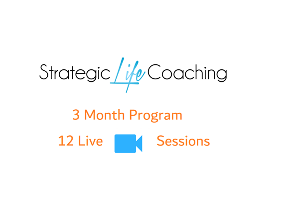 Live 1 to 1 Coaching:  3 Month Program