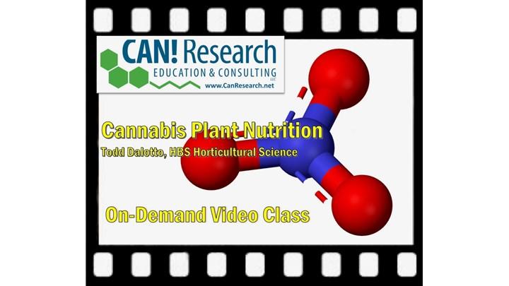 Cannabis Plant Nutrition class