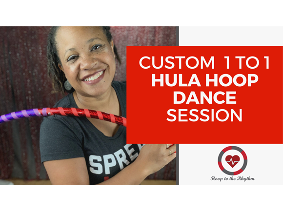 Custom One Hour  1 to 1 Hooping Session