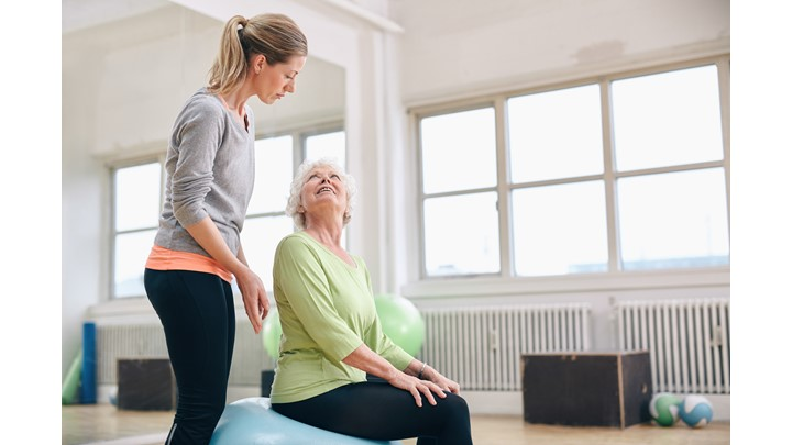 Two Day Free Trial!  Actively Aging Chair Pilates Class