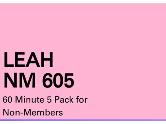 Leah NM 5 Pack 60 minute sessions