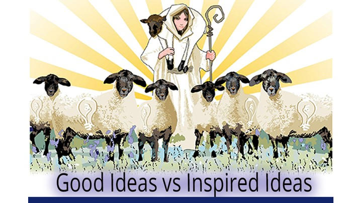 Good Ideas vs Inspired Ideas - with Candace Long (MBA)