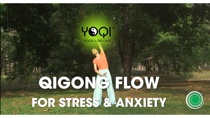 QIGONG FLOW FOR STRESS AND ANXIETY RELIEF