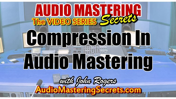 Compression Made Easy In Audio Mastering