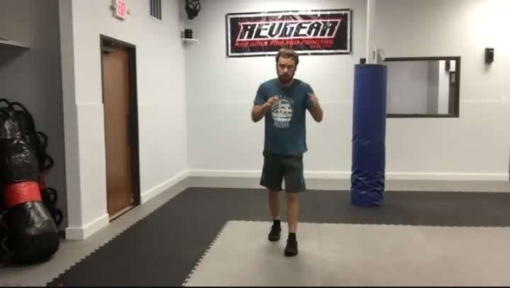 Offensive Front/Round Kick Combo