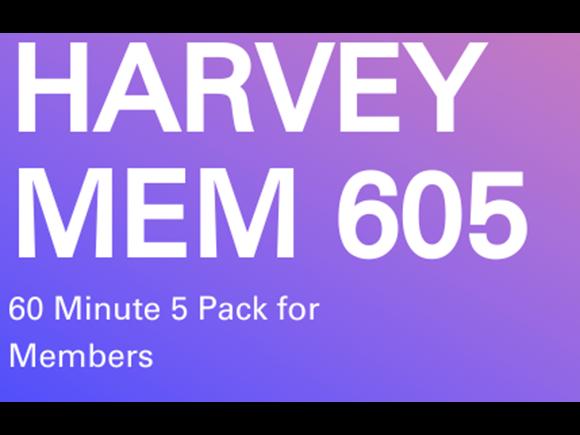 Harvey Memb. 5 Pack 60 minute Personal Training