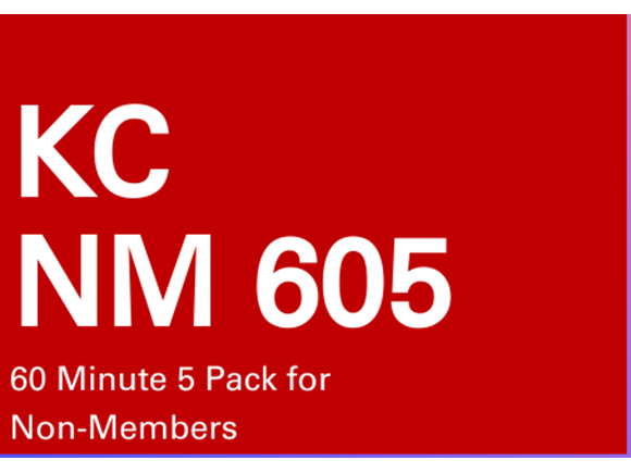 KC NM 5 Pack 60 minute sessions