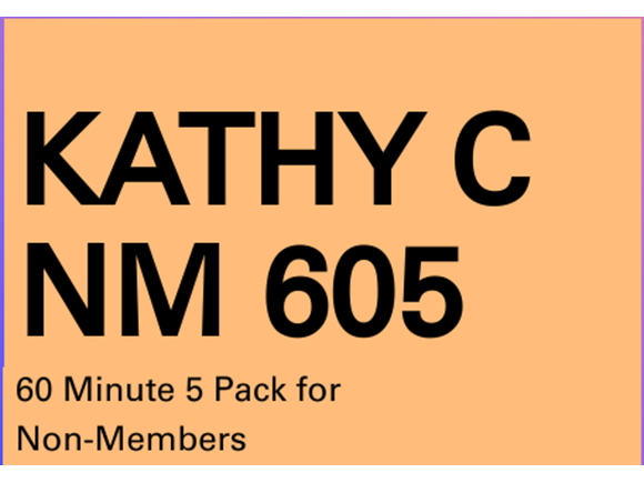 Kathy C NM 5 pack 60 minute PT Sessions