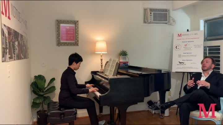 Piano Lesson with Thomas Pandolfi (Part 3, Chopin Concerto, 1st mvt)