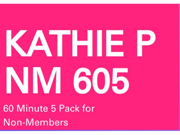 Kathie NM 5 Pack 60 minute sessions