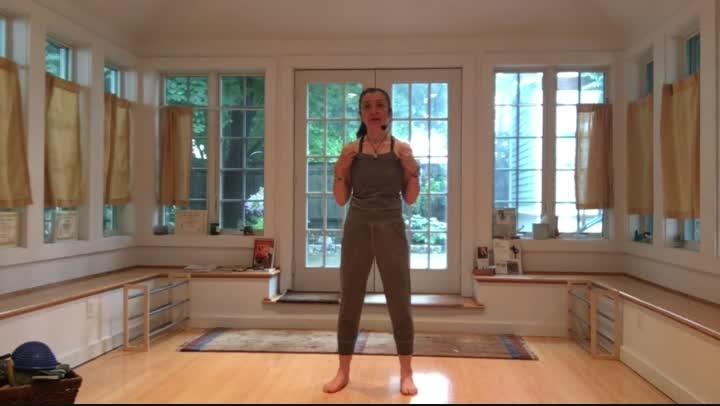 TaiChi for Healing:  Upper Back, Neck+Shoulders (13 min)