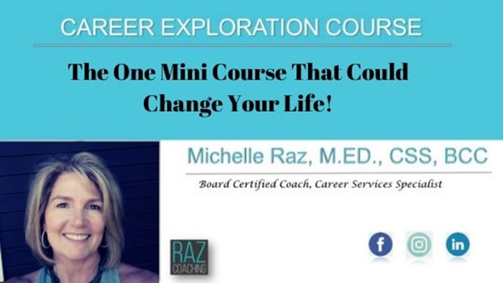 Career Exploration  Mini Course