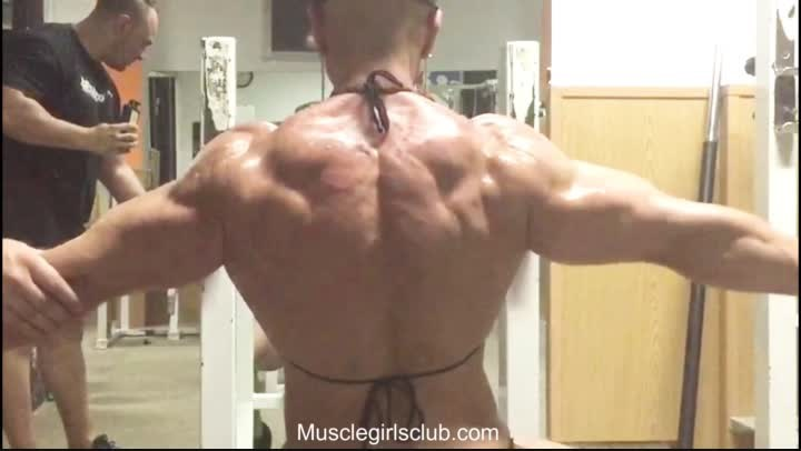 Awesome Virginia Sanchez Muscle Worship July 2017