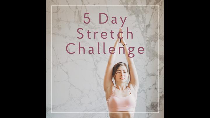 5 Day Stretch Break Challenge