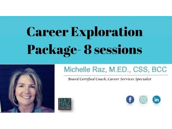 Career Exploration Package- 8 sessions