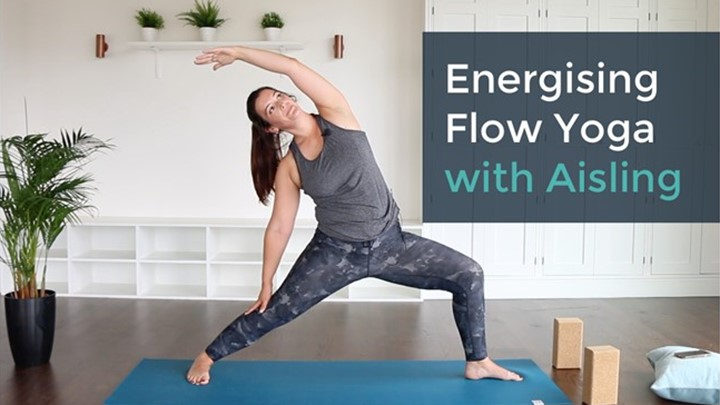 Energising Flow Yoga (21min) with Aisling