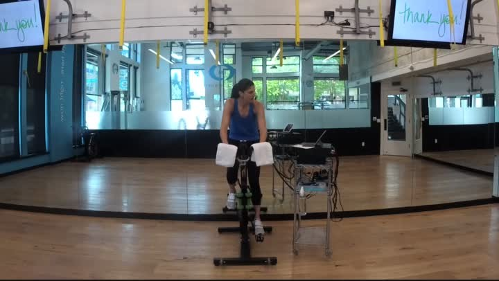 Cycle Interval 8 - 45 minutes - Julie