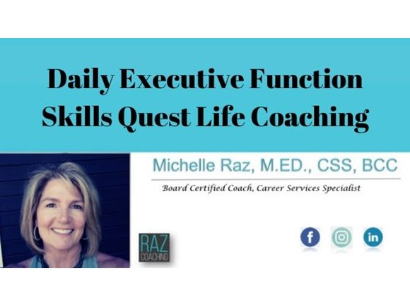 Daily Executive Function Skills Quest Life Coaching