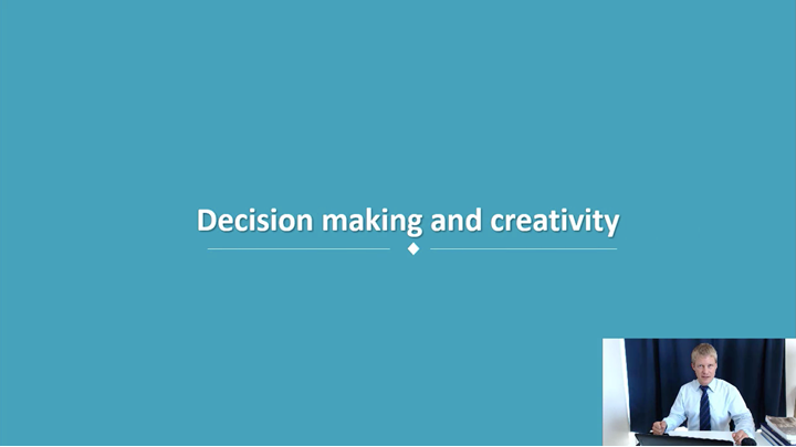 12/12 Developing Leadership Skills: Decision-making and creativity