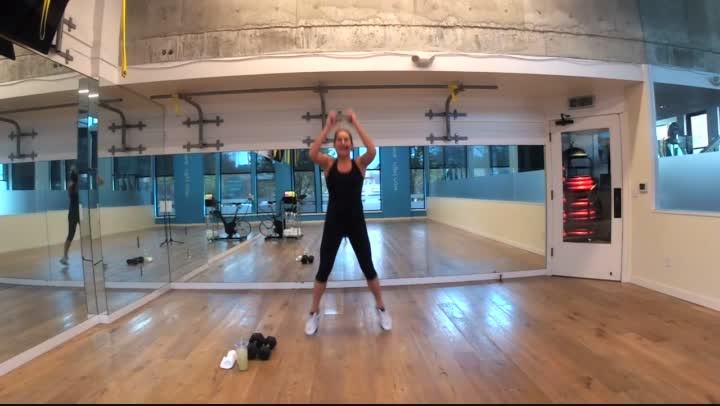 Fitness Bite 1 - Full  Body  - 20 minutes - Ginny
