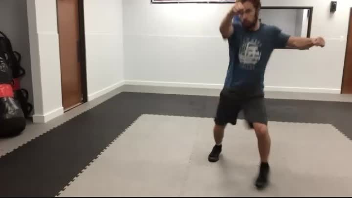 Round Kick/Stepping In for Elbow #1/knees