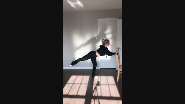 trèsbarrePRO transition: arabesque rollover