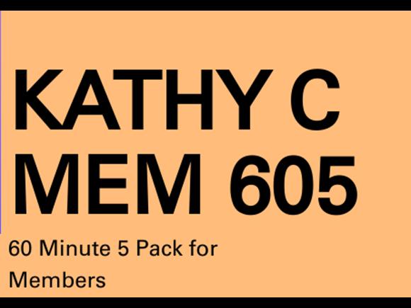 Kathy C Mem 5 Pack 60 Minute PT Sessions