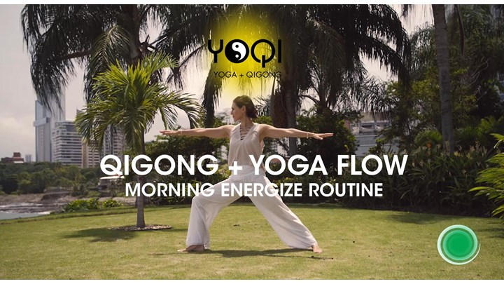 QIGONG +YOGA MORNING ROUTINE