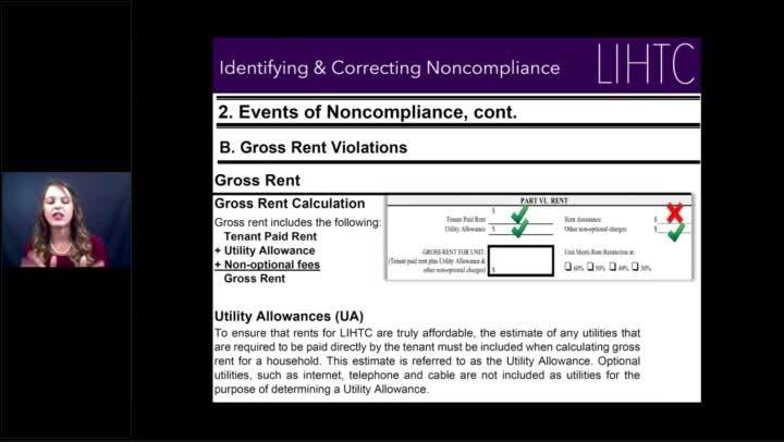 LIHTC Non-Compliance