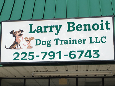 Larry Benoit Dog Trainer LLC