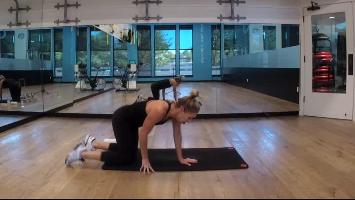 Fitness Bite 10 - Arms & Abs - 20 minutes - Ginny