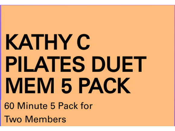 Pilates Mem 5 Pack Duet Sessions
