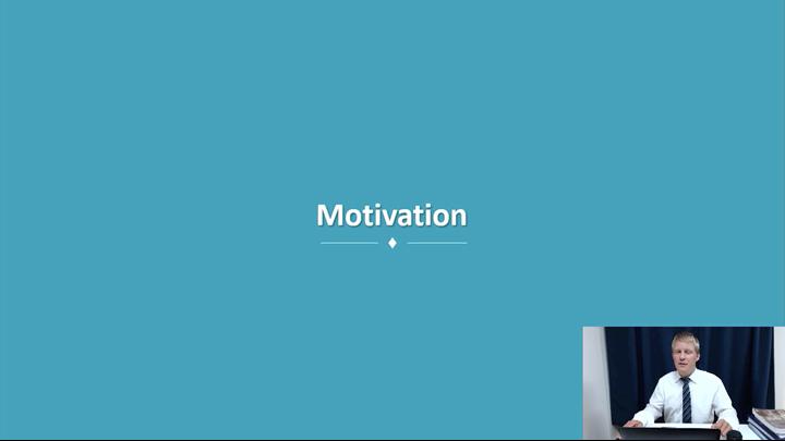 11/12 Developing Leadership Skills: Motivation