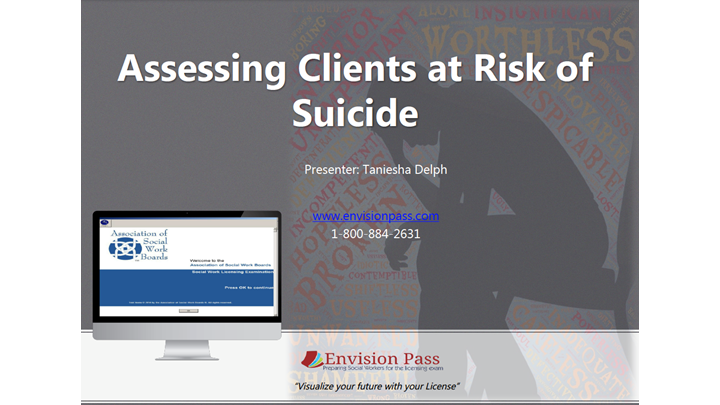 Assessing Clients at Risk for Suicide