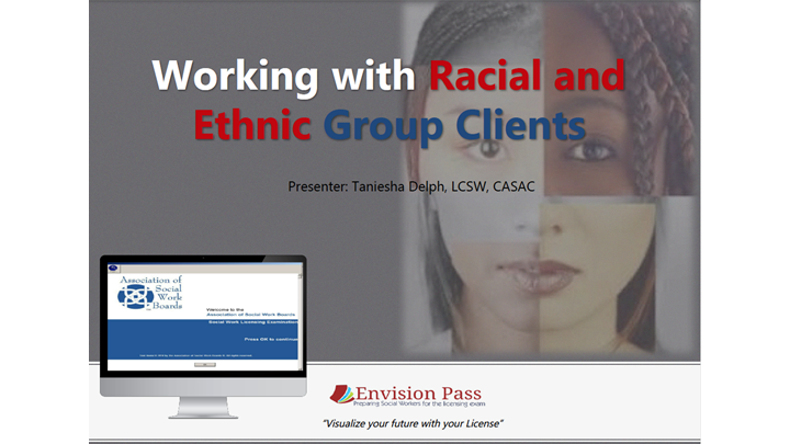 Working with Racial and Ethnic Group Clients