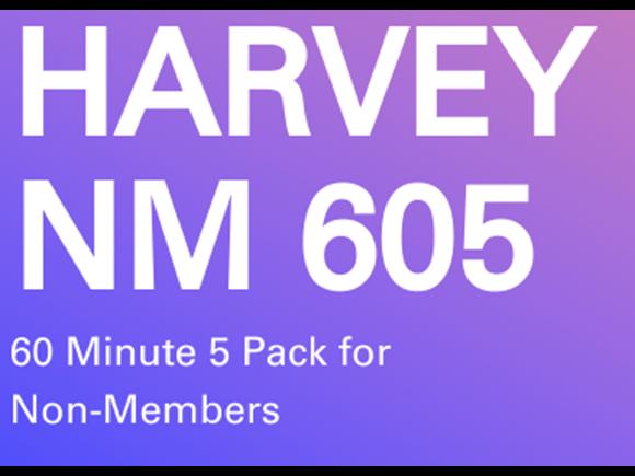 Harvey Non-Memb. 5 Pack 60 minute sessions
