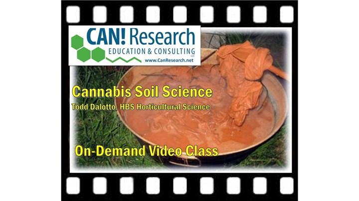 Cannabis Soil Science class