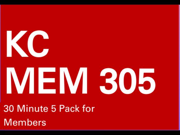 KC Mem 5 Pack 30 minute sessions