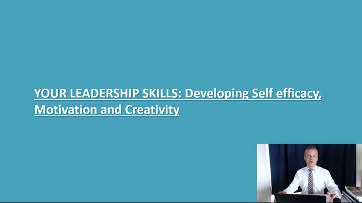 01/12 Developing Leadership Skills: Introduction