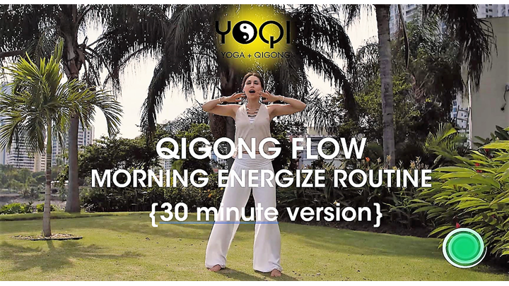 30 MIN QIGONG MORNING ENERGIZE ROUTINE