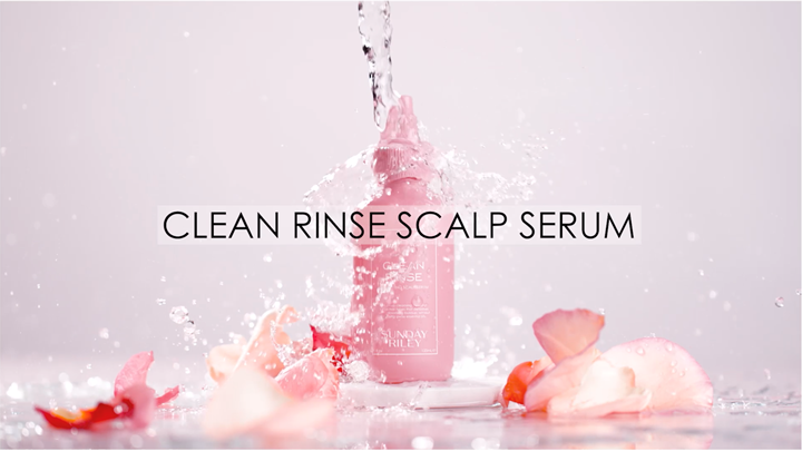 Introducing Clean Rinse Scalp Serum