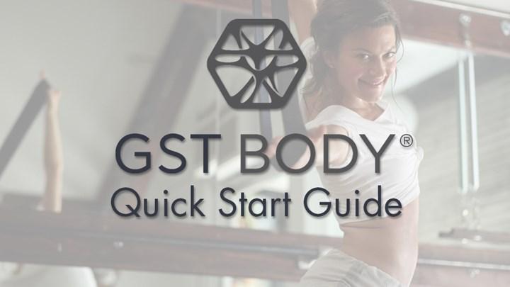 GST® Quick Start Guide